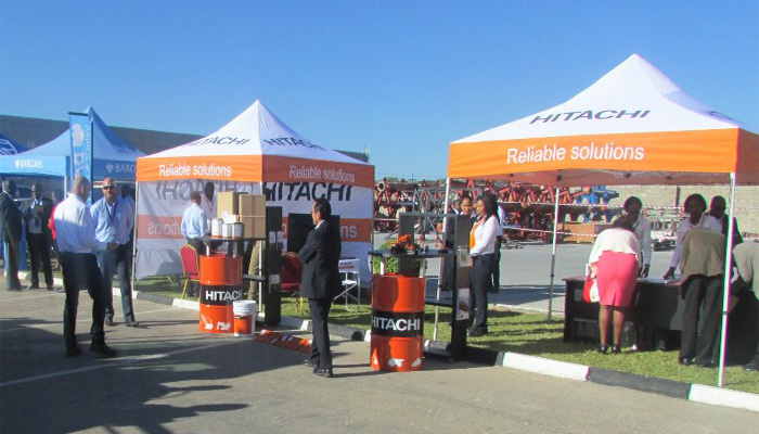 A successful hosting displayed at Hitachi Customer Care Day.